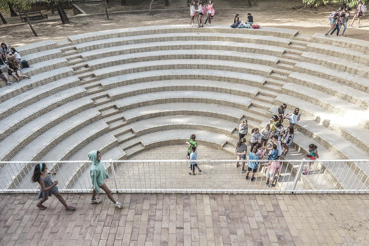Colegio Aljarafe anfiteatro romano