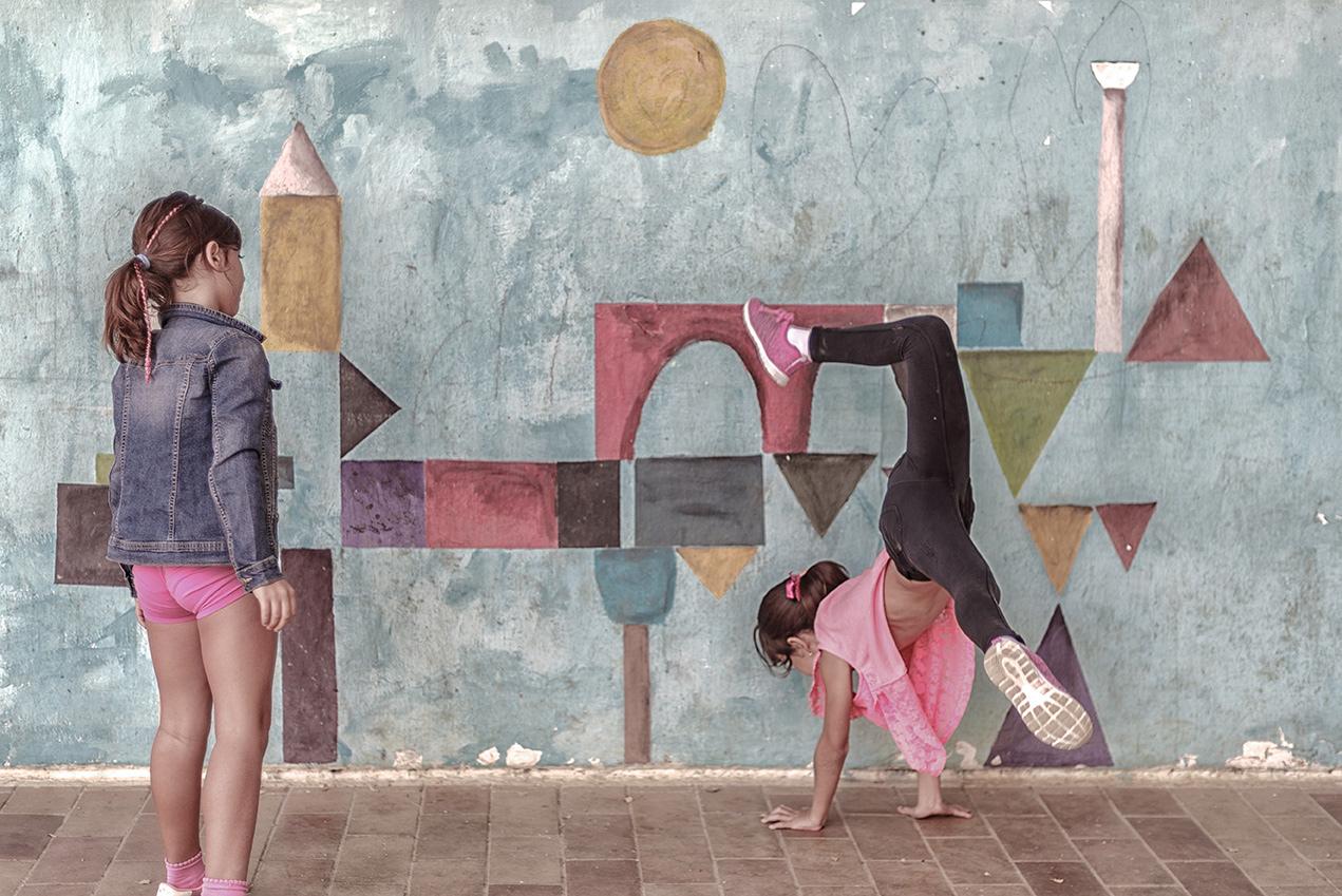 Colegio Aljarafe diversión en el recreo