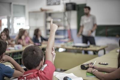 Colegio Aljarafe participando en clase