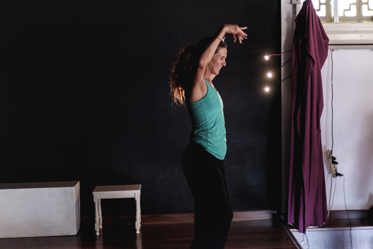 Colegio Aljarafe en clase de danza