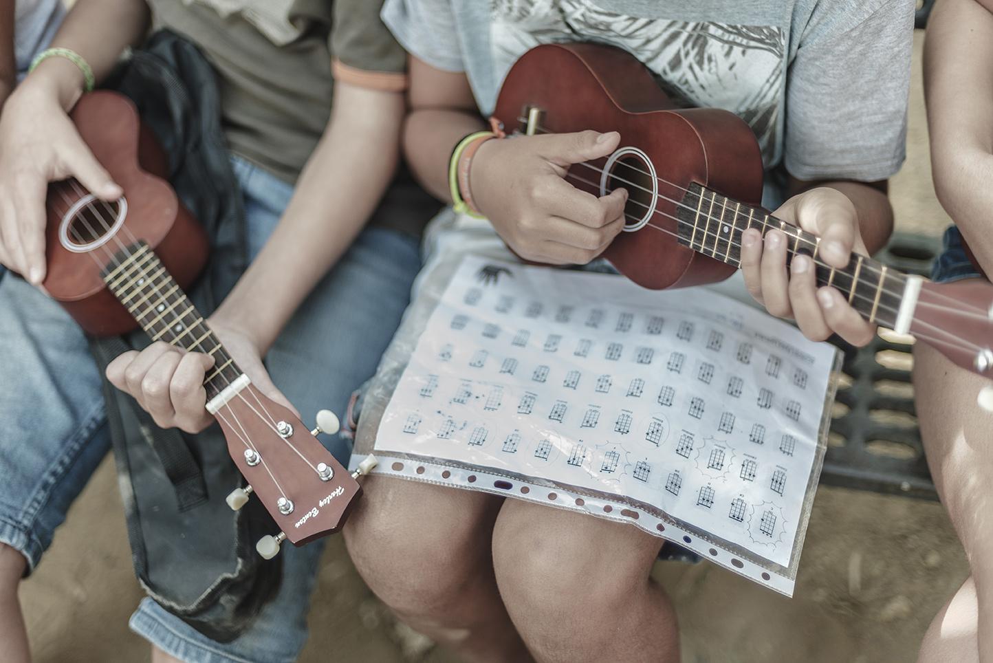 Colegio Aljarafe partituras para el Ukelele