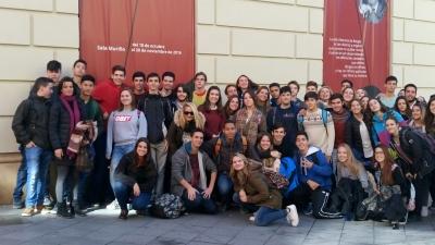 Visita Infinito Borges Colegio Aljarafe 2º Bachillerato