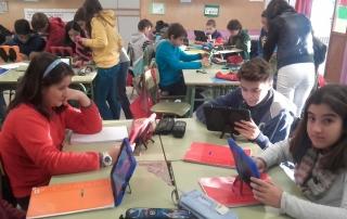 Uso de Tablets en el Aula Colegio Aljarafe