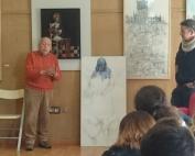 2°ESO visita la exposición de Paco Cuadrado en el Ateneo de Mairena