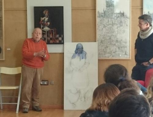 2°ESO visita la exposición  de Paco Cuadrado en el Ateneo de Mairena.