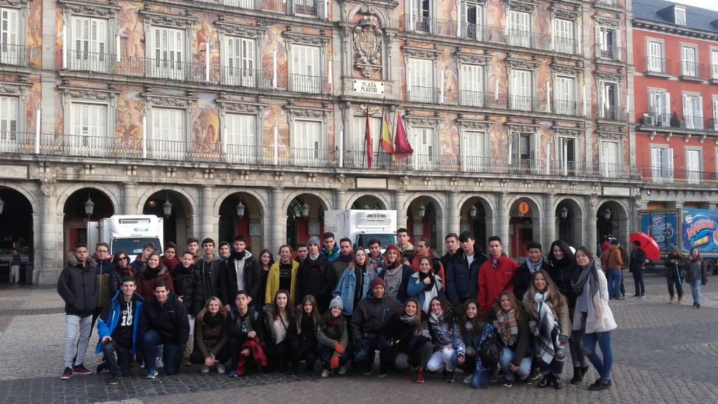 En la Plaza Mayor
