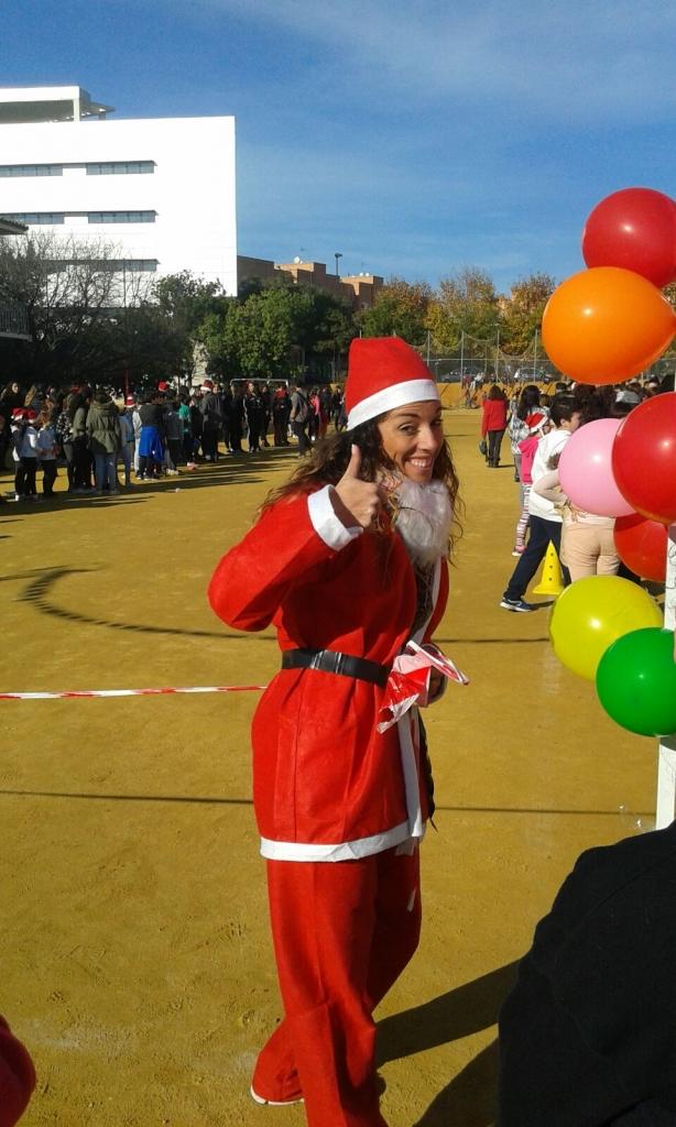 Carrera Solidaria Navidad Colegio Aljarafe