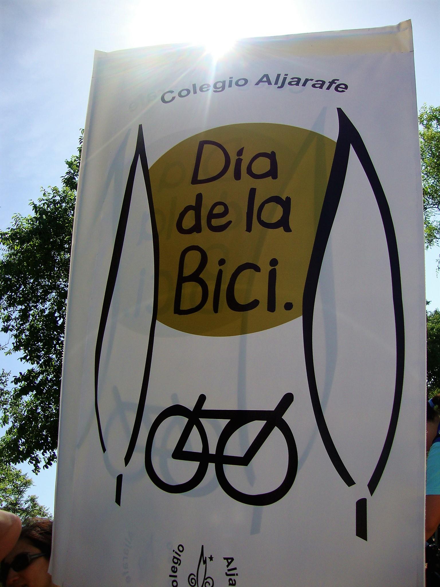 dia de la bici colegio aljarafe
