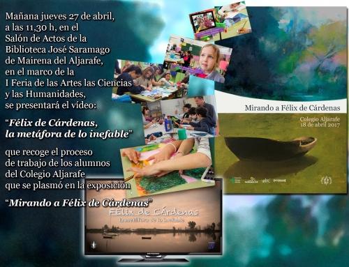Presentación vídeo Félix de Cárdenas