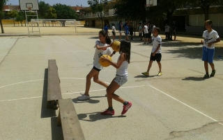 Liga deportiva primaria colegio aljarafe