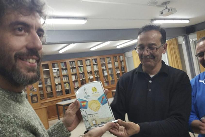 Intercambio con el colegio Fekir Mourir de Marruecos