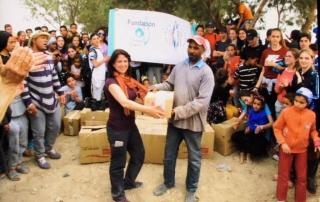 Actividades de Solidaridad en Marruecos Colegio Aljarafe