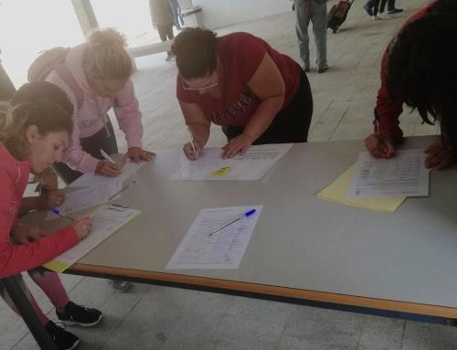 El Ampa del Colegio Aljarafe se moviliza para la recogida de firmas, con el fin de que nos concedan una nueva Aula de Integración.