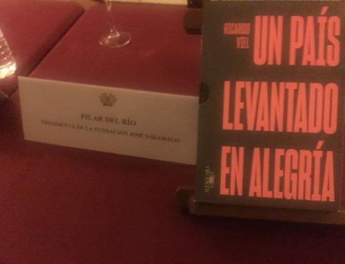 """Presentación en Sevilla """"El cuaderno del año del Nobel"""", de José Saramago"""