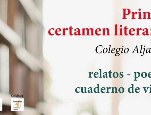 Primer Certamen Literario – Colegio Aljarafe