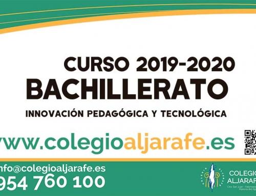 ABIERTO PLAZO DE MATRICULA BACHILLERATO 2019-2020