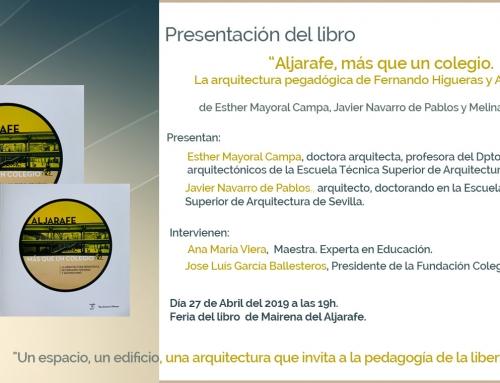 """Presentación dellibro """"ALJARAFE, más que un colegio"""" – Feria del libro de Mairena del Aljarafe"""