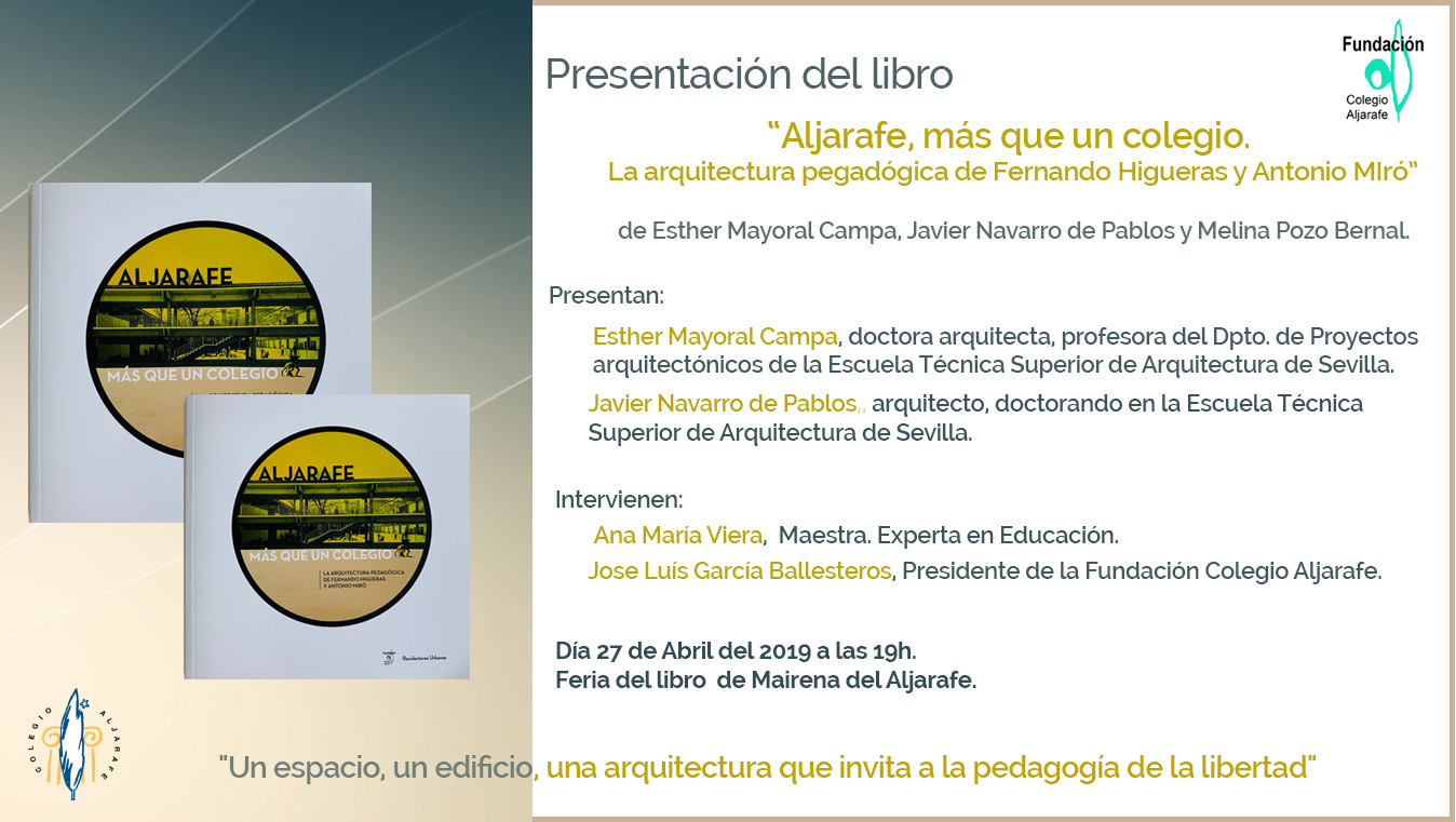 Presentación dellibro «ALJARAFE, más que un colegio» – Feria del libro de Mairena del Aljarafe