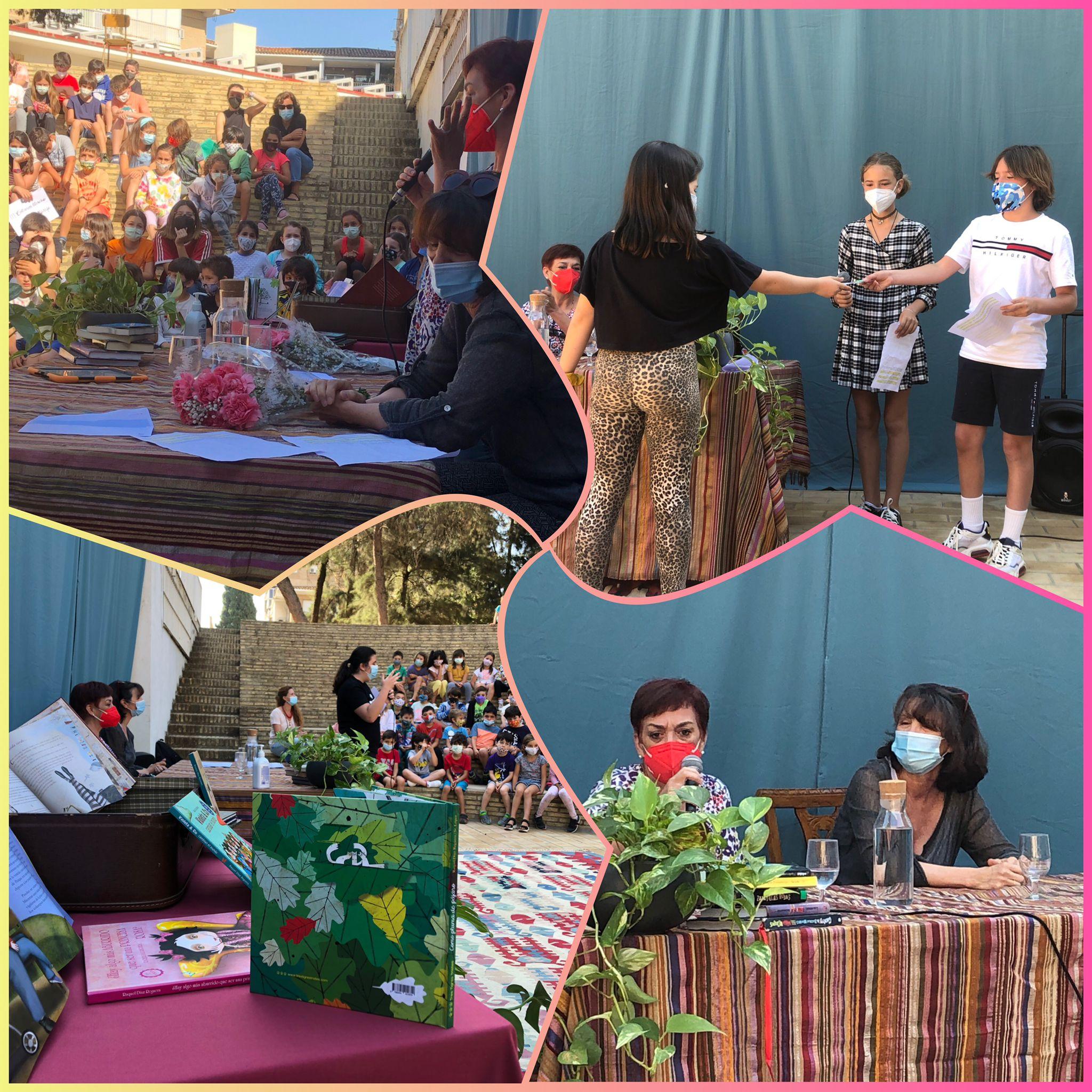 II Certamen Literario de Primaria del Colegio Aljarafe, en colaboración con la Fundación.